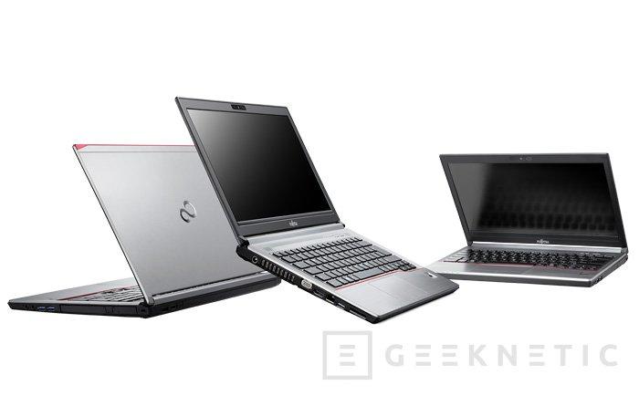Toshiba presenta sus portátiles LifeBook E para entornos empresariales, Imagen 1