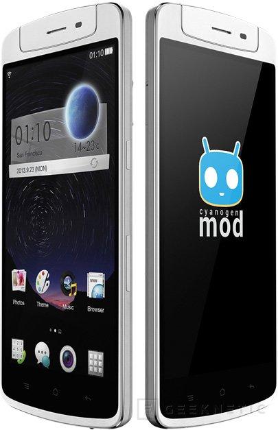Oppo presenta su smartphone N1 con cámara giratoria y Cyanogen como sistema operativo, Imagen 3