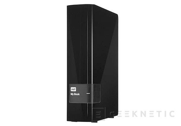 Western Digital presenta nuevos discos externos de 4 TB dentro de la gama My Book, Imagen 1