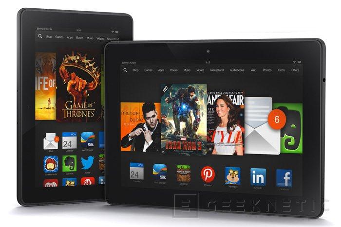 Ya disponibles los nuevos tablets  Kindle Fire HDX de Amazon en España, Imagen 1