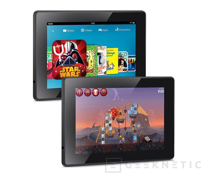 Ya disponibles los nuevos tablets  Kindle Fire HDX de Amazon en España, Imagen 2