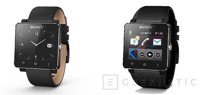 Sony lanza en España su SmartWatch 2, Imagen 1