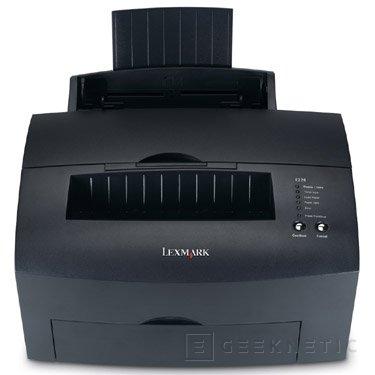Nueva impresora láser Lexmark E220, Imagen 1