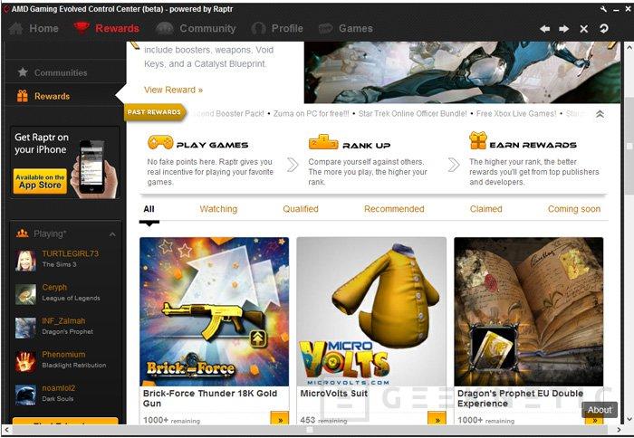 Ya disponible AMD Gaming Evolved App para optimizar automáticamente los juegos con gráficas Radeon, Imagen 2