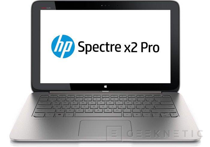 HP actualiza su tablet híbrido Spectre X2 Pro con procesadores Intel Core Haswell, Imagen 2