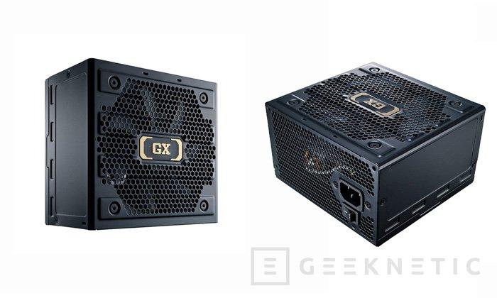 Nueva serie de fuentes de alimentación Cooler Master GX II, Imagen 1