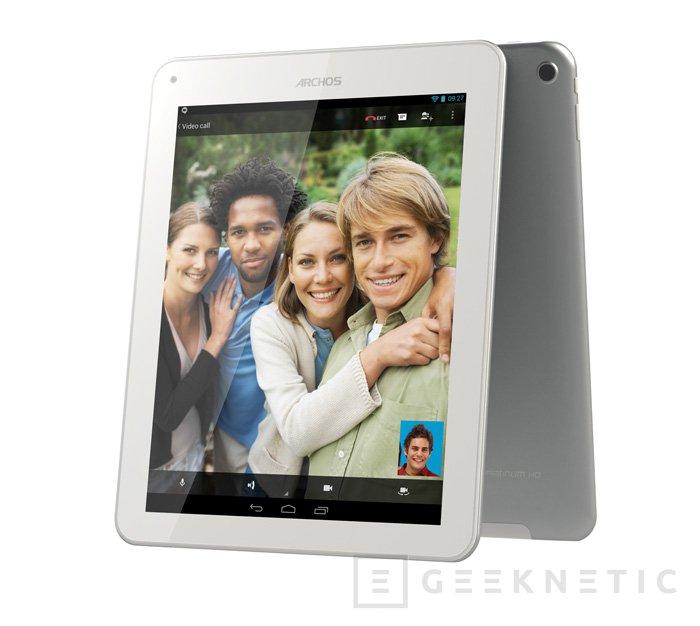 Archos lanza unna nueva serie de tablets económico con procesador de cuatro núcleos , Imagen 1