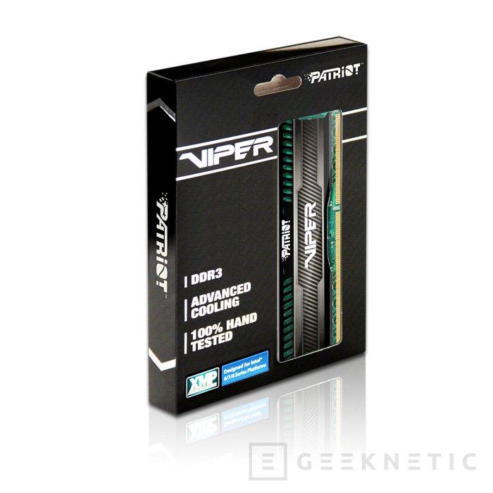Patriot Viper 3 Low Profile, memorias DDR3 de bajo perfil, Imagen 3