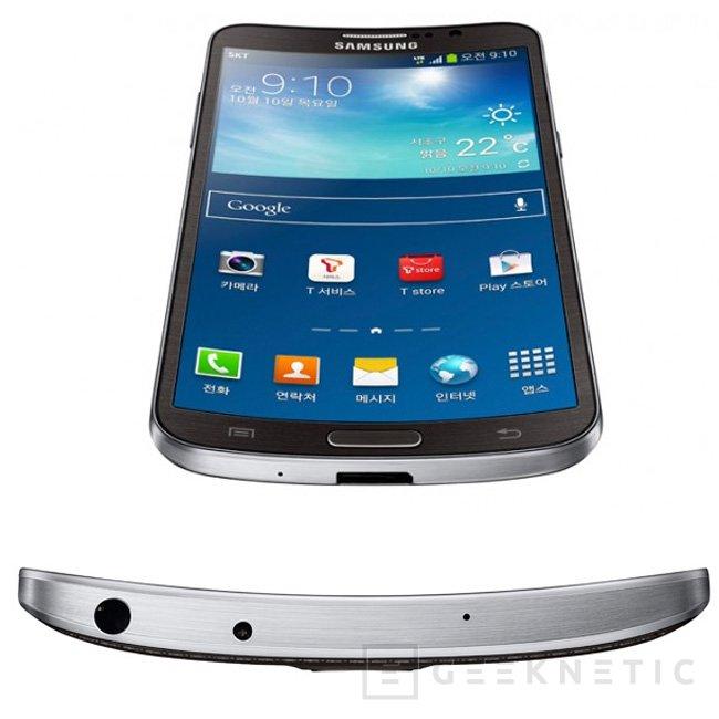 Galaxy Round, Samsung presenta oficialmente su primer teléfono con pantalla curvada, Imagen 2