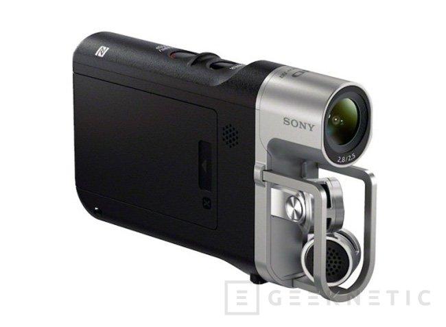 Sony Music Video Recorder, una cámara de vídeo que prioriza la calidad de audio, Imagen 1