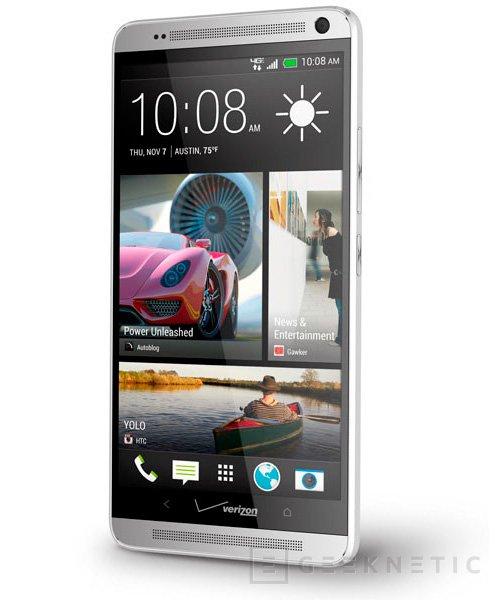 HTC presenta el One Max, un terminal de 5.9 pulgadas con lector de huellas, Imagen 1