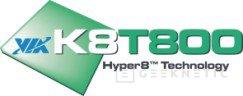 Soporte para sATA en K8T800, Imagen 2