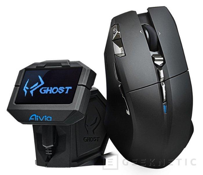 Gigabyte presenta oficialmente su ratón con pantalla OLED Aivia Uranium, Imagen 1