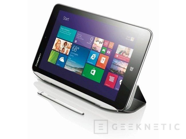 Lenovo Miix2, nuevo tablet de 8 pulgadas con Windows 8.1 y CPU Intel Bay Trail, Imagen 1