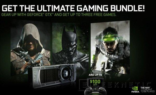NVIDIA anuncia un bundle de juegos gratuitos con la compra de sus tarjetas , Imagen 1