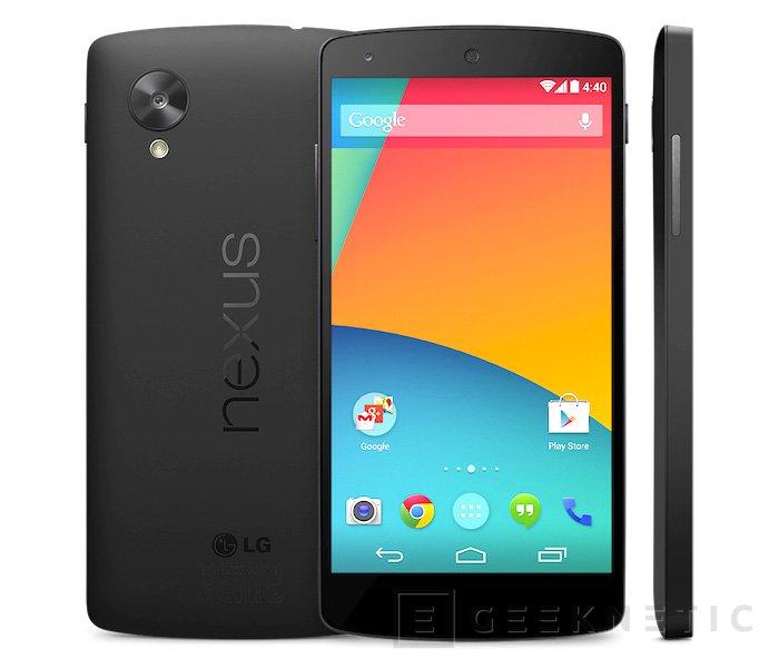 Aparece el Nexus 5 en la tienda online de Google, Imagen 1