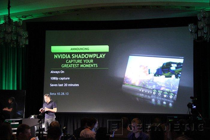 NVIDIA ShadowPlay, sistema de grabación de gameplays integrado, Imagen 2