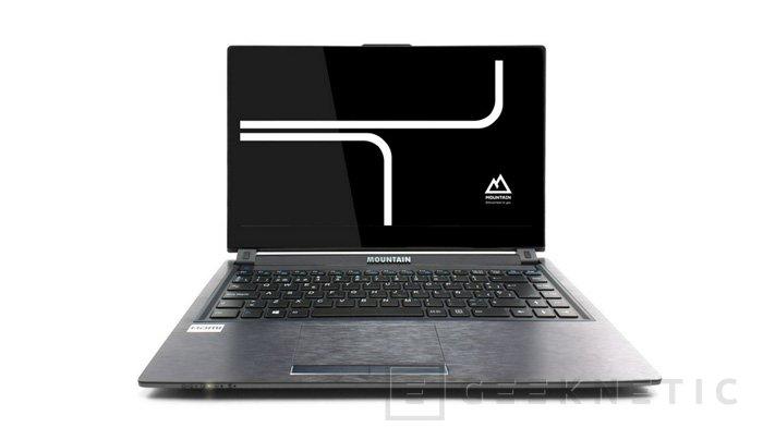 Mountain LightU T744G, nuevo ultrabook con pantalla táctil, Imagen 1