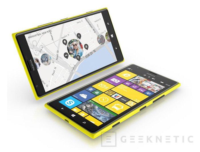 Lumia 1520 y Lumia 1320, llegan los primeros phablets de Nokia, Imagen 1