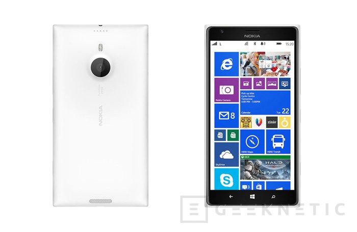 Lumia 1520 y Lumia 1320, llegan los primeros phablets de Nokia, Imagen 2