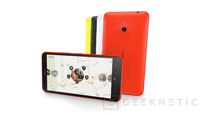 Lumia 1520 y Lumia 1320, llegan los primeros phablets de Nokia, Imagen 3