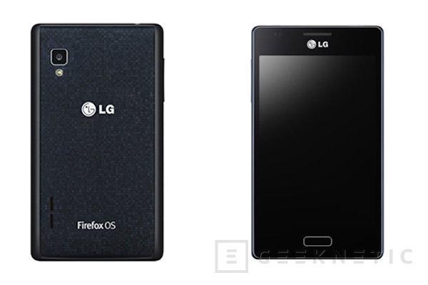 LG presenta un smartphone con Firefox OS, Imagen 1