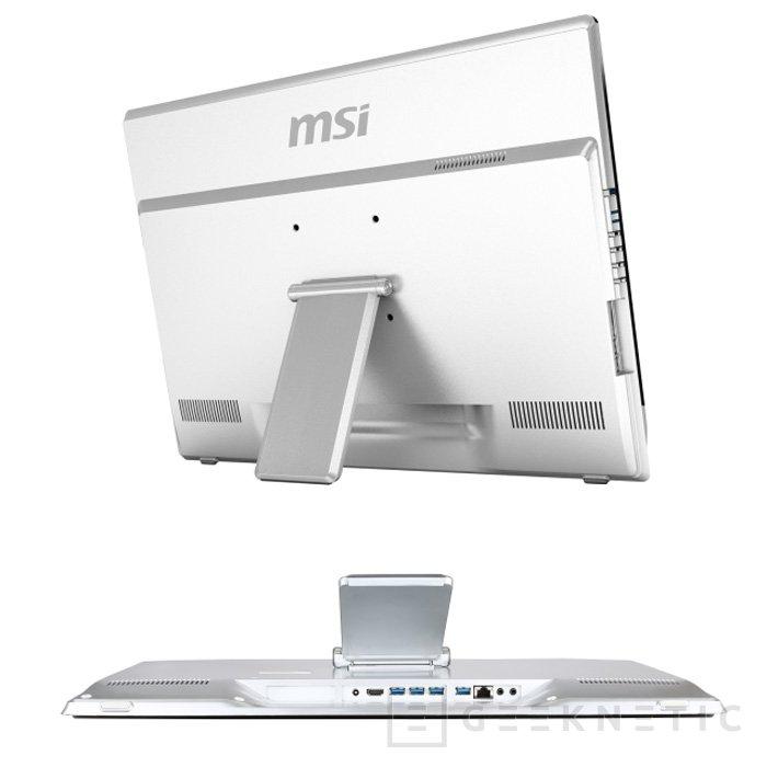 MSI también actualiza con haswell su AiO Adora 24, Imagen 2