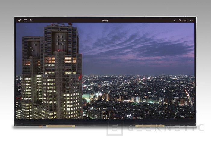 Sony, Hitachi y Toshiba muestran una pantalla de 12 pulgadas con resolución 4K, Imagen 1