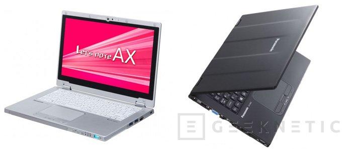 Nuevo ultrabook de alta resistencia Panasonic Toughbook CF-AX3, Imagen 1