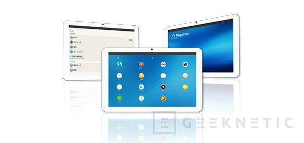 Systena presenta el primer tablet con Tizen, Imagen 1