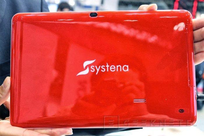 Systena presenta el primer tablet con Tizen, Imagen 2
