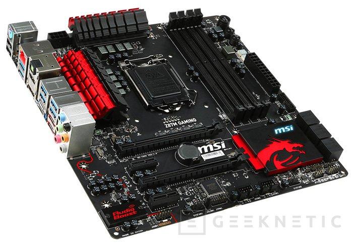MSI Z87M Gaming, placa base de alto rendimiento Micro-ATX, Imagen 1