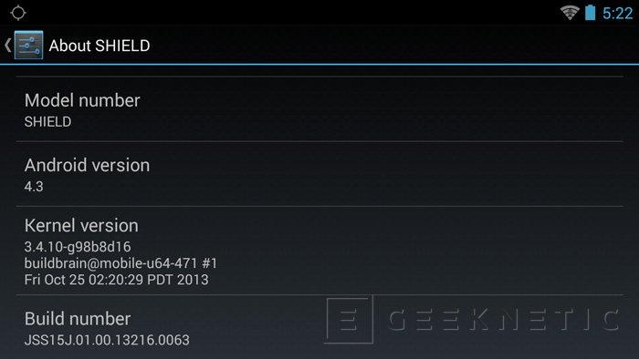 La consola NVIDIA Shield recibe Android 4.3 y nuevas funcionalidades, Imagen 2