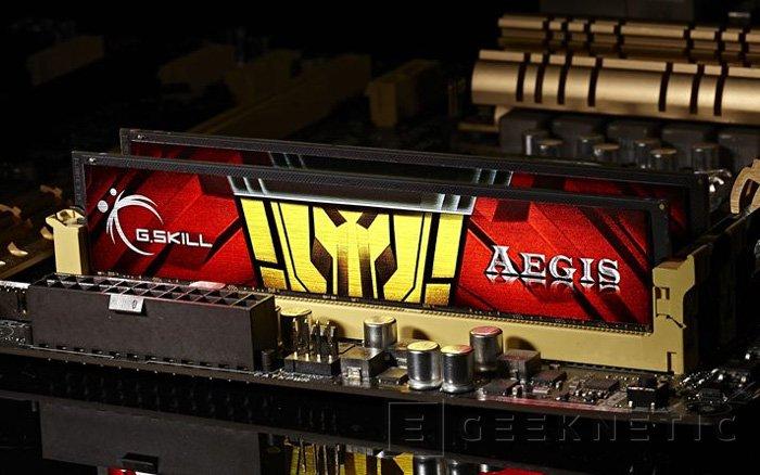 G.Skill AEGIS, nueva gama de memorias gaming, Imagen 1