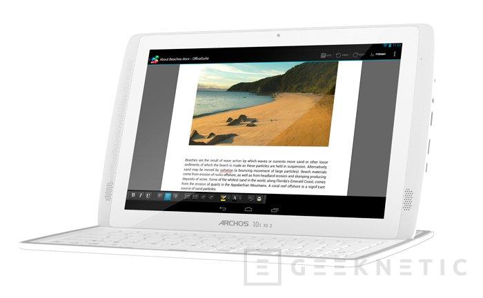 Archos completa su gama de tablets Gen11 con la nueva 101 XS2, Imagen 1