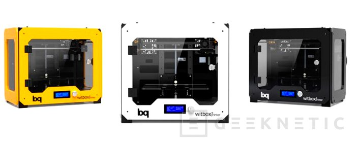 Bq Witbox, una impresora 3D fabricada en España, Imagen 2