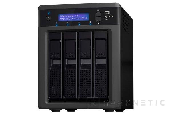 Western Digital presenta un nuevo NAS de 4 bahías, Imagen 1