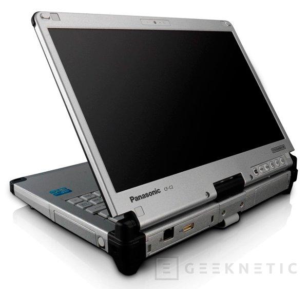 Panasonic Toughbook CF-C2, portátil convertible con alta resistencia, Imagen 1
