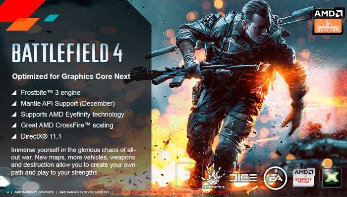 AMD regalará el Battlefield 4 con todas las gráficas de la gama Radeon R9, Imagen 1