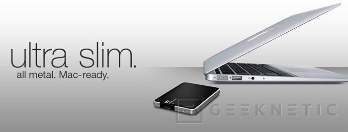 Western Digital amplia su disco externo My Passport Air con 1 TB de capacidad, Imagen 1