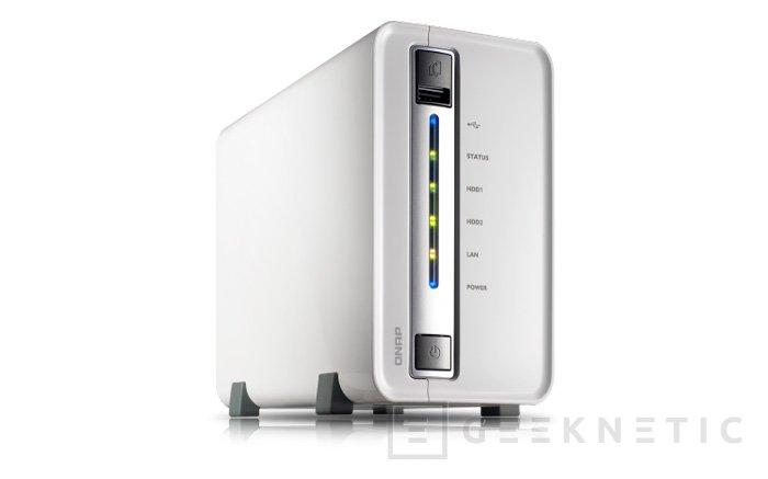 QNAP lanza su nuevo Turbo NAS TS-212P para entorno doméstico, Imagen 1