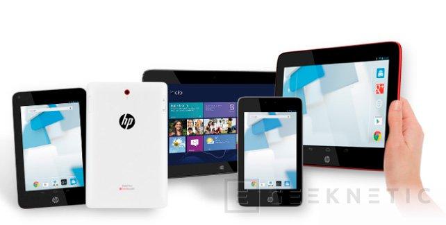 HP trae a España sus últimos tablets, Imagen 1