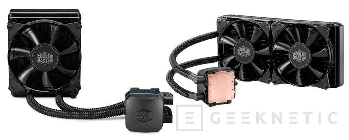 Cooler Master Nepton, nuevas refrigeraciones líquidas integradas, Imagen 1