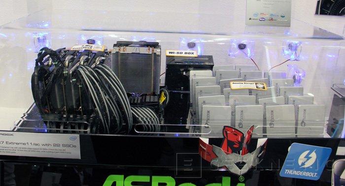 ASRock presenta su placa base Z87 Extreme11/AC con 22 puertos SATA, Imagen 1