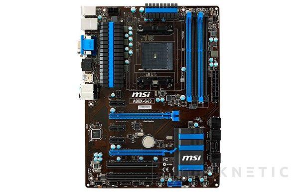 MSI lanza una nueva gama de placas Military Class 4 para socket AMD FM2+, Imagen 1