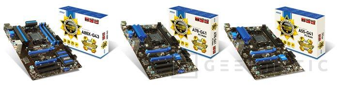 MSI lanza una nueva gama de placas Military Class 4 para socket AMD FM2+, Imagen 2