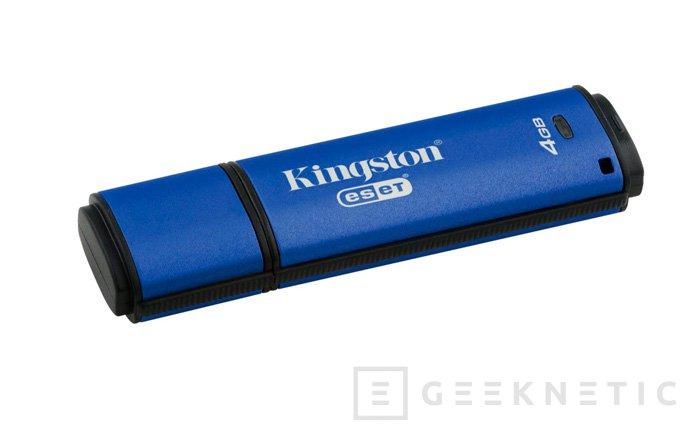 Kingston DTVP 3.0, pendrive USB con encriptación automática, Imagen 1
