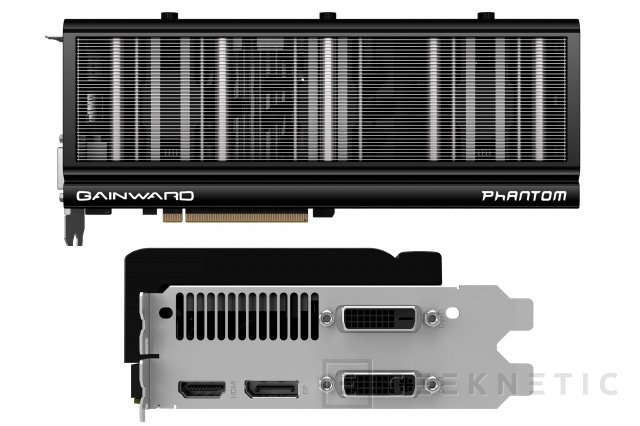 Gainward muestra su GTX 780 Ti Phantom con ventiladores extraíbles, Imagen 2