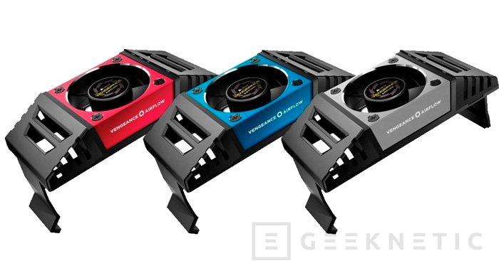 Nuevos ventiladores para memorias RAM Corsair Vengeance Airflow, Imagen 1