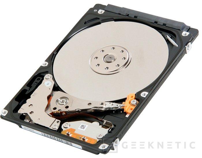 Toshiba MQ01ABFH, discos híbridos de 7 mm de grosor, Imagen 1
